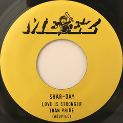 SHAR-DAY:LOVE IS STRONGER THAN PRIDE(LABEL SIDE-B)