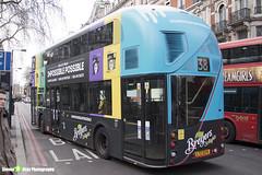 Wrightbus NRM NBFL - LTZ 1224 - LT224 - Breyers Delights - Clapton Pond 38 - Arriva London - London 2018 - Steven Gray - IMG_7876
