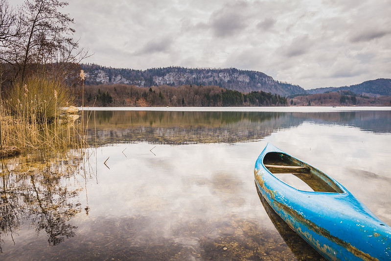 Lac d'Ilay - Jura - Avril 2018