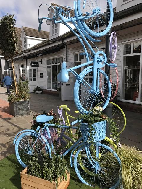 Bicester Village, bike art