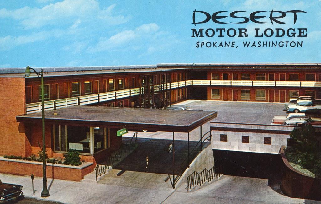 Desert Motor Lodge - Spokane, Washington