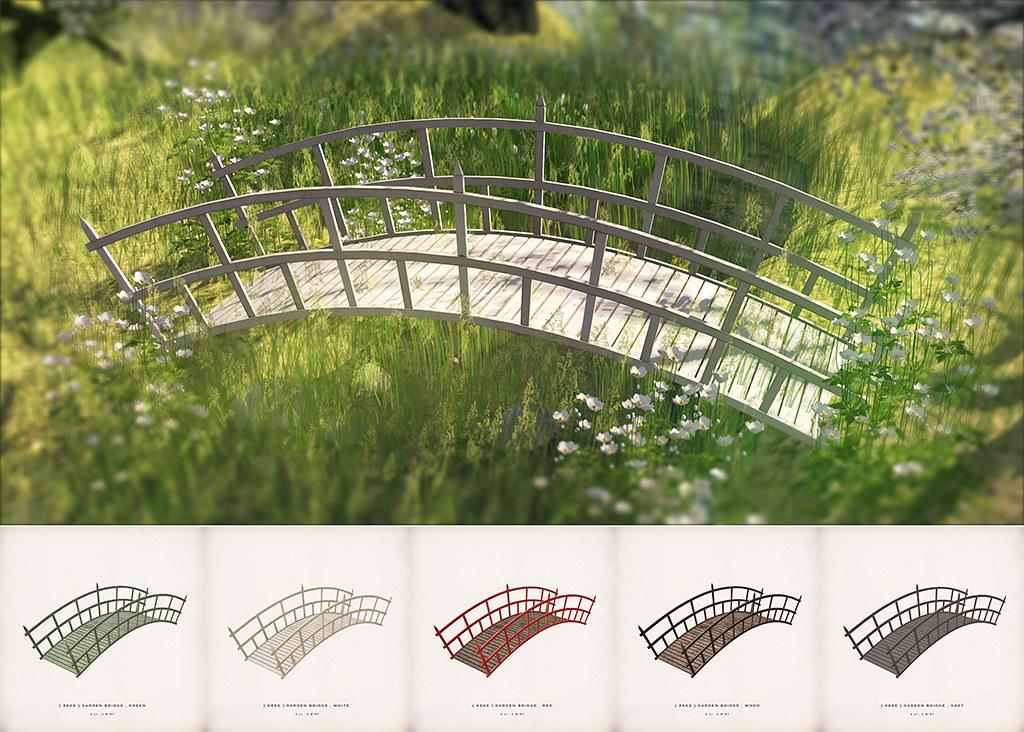 [ keke ] garden bridge