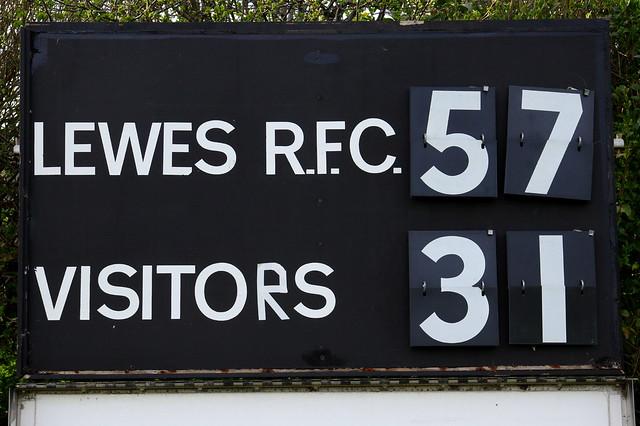 Lewes Men's First XV vs Bromley - 14 April 2018