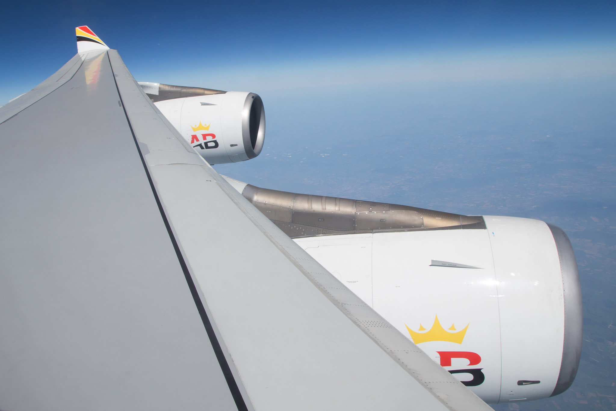 Air Belgium test flight CRL to CRL