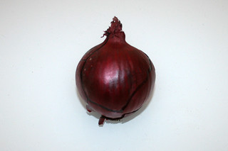 12 - Zutat rote Zwiebel / Ingredient red onion