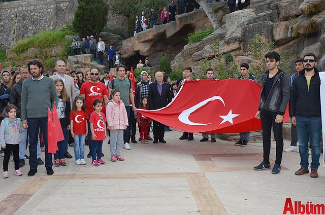 Türk Eğitim Sen Alanya Temsilciliği 18 Mart Çanakkale Zaferi Anısına Şehitlere Saygı Yürüyüşü -8