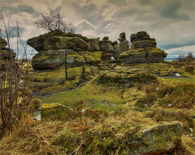 Brimham Rocks Yorkshire. XF Body !Q3 100mp 28mm LS Schneider Lens