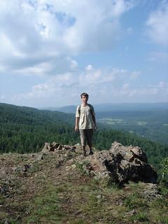 Абзаково. Вид с горы