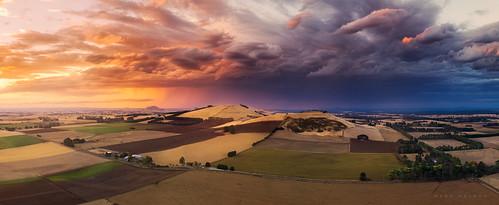 australia ballarat dji daylesford drone kingston markmcleod markmcleodphotography vic aerial rural storm blampied