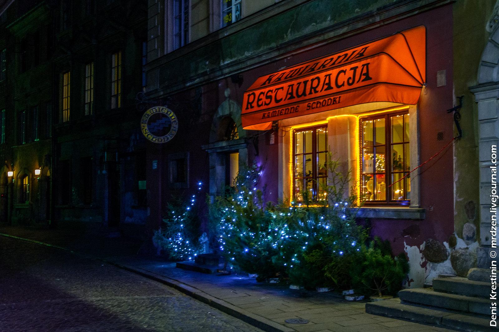 Варшава. Старый город. Рыночная площадь.