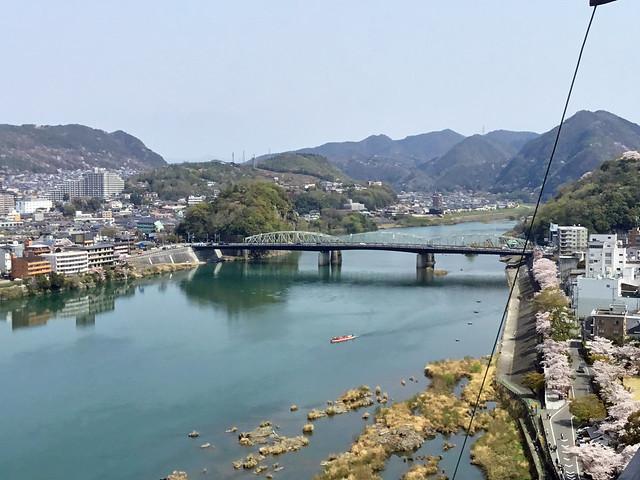 犬山城 天守閣最上階より北東方向を眺める IMG_2699_2