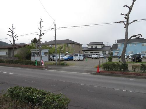 福島競馬場の福島市児童公園付近の民間駐車場