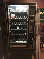 Vending machine that sells cigarettes
