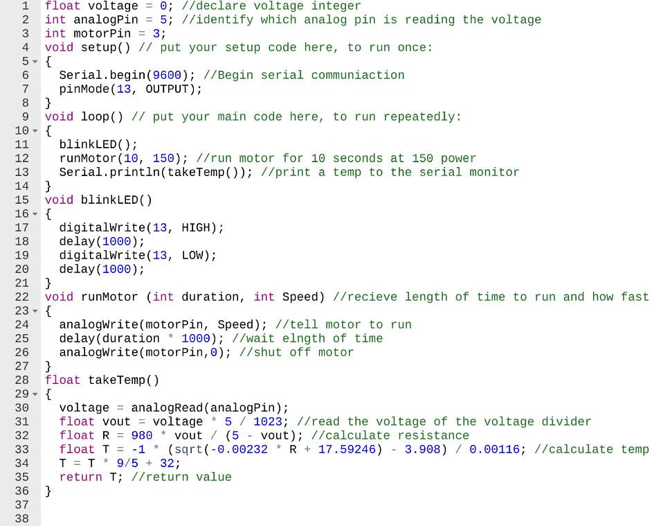 Calorimetry code