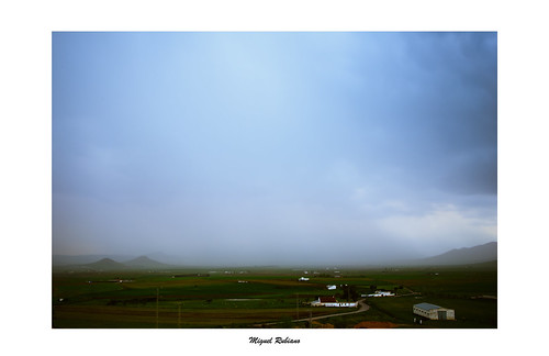 Tarde de tormenta cerca de Fuente Obejuna