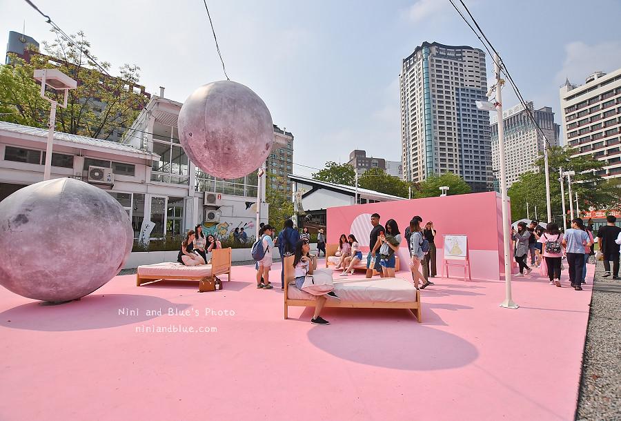 勤美綠園道 粉紅現象 台中景點網美拍照11
