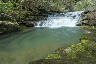 Pocket Creek Falls, Pocket Creek, Chimneys SNA, Marion County, Tennessee 2