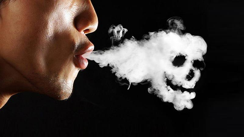 Merokok berkaitan dengan gangguan jiwa psikosis.