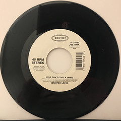 JENNIFER LOPEZ:LOVE DON'T COST A THING(RECORD SIDE-B)