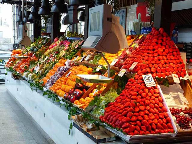Dans les rues de Madrid...Mercado