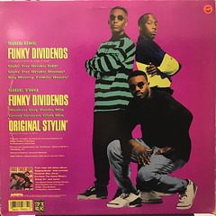 THREE TIMES DOPE:FUNKY DIVIDENS(JACKET B)