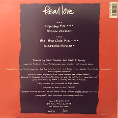 MARY J. BLIGE:REAL LOVE(JACKET B)