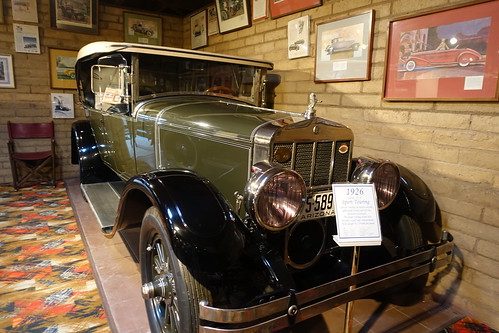 1926 Sport Touring Auto, Franklin Auto Museum. From History Comes Alive in Tucson
