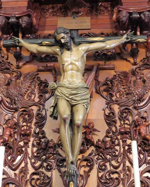 Hermandad y Cofradía de Nazarenos del Santísimo Cristo de la Vera Cruz, Mª Santísima de la Ancilla en su Mayor Dolor y Traspaso y San Juan Evangelista.