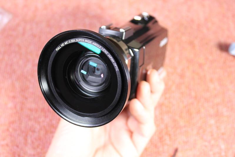 TOMTOP Andoer 4K ビデオカメラ 開封レビュー (89)