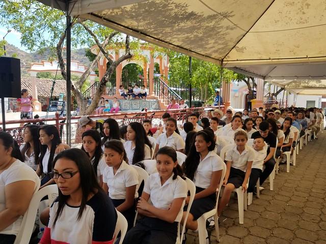 20180323 La Educación: una prioridad del GOES para la juventud del municipio de Nombre de Jesús