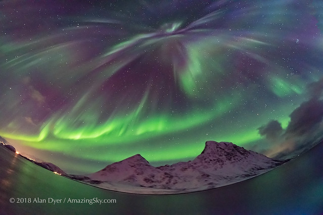 All-Sky Aurora from Norway #1
