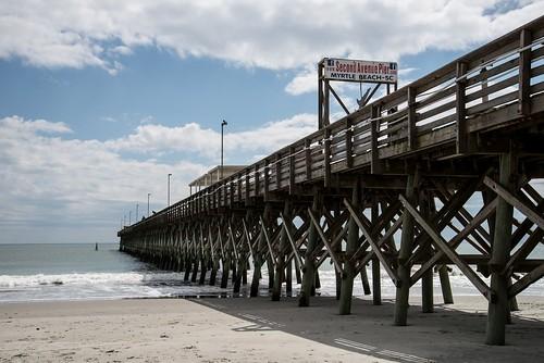 roadtrip unitedstates usa southcarolina myrtlebeach myrtlebeachsc grandstrand beach beachscenic pier secondavenuepier 2ndavenuepier