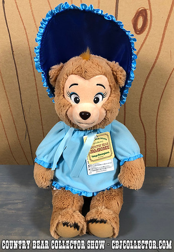 2018 Tokyo Disneyland Sun Bonnet Plush - Country Bear Collector Show #143