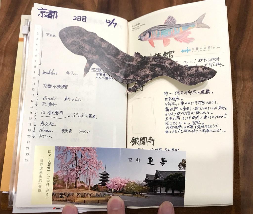 トラベラーズノート京都