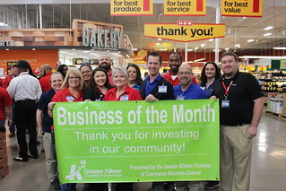 April 2018 Business of the Month- HEB