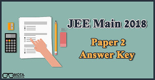 JEE Main 2018 Paper 2 Answer Key