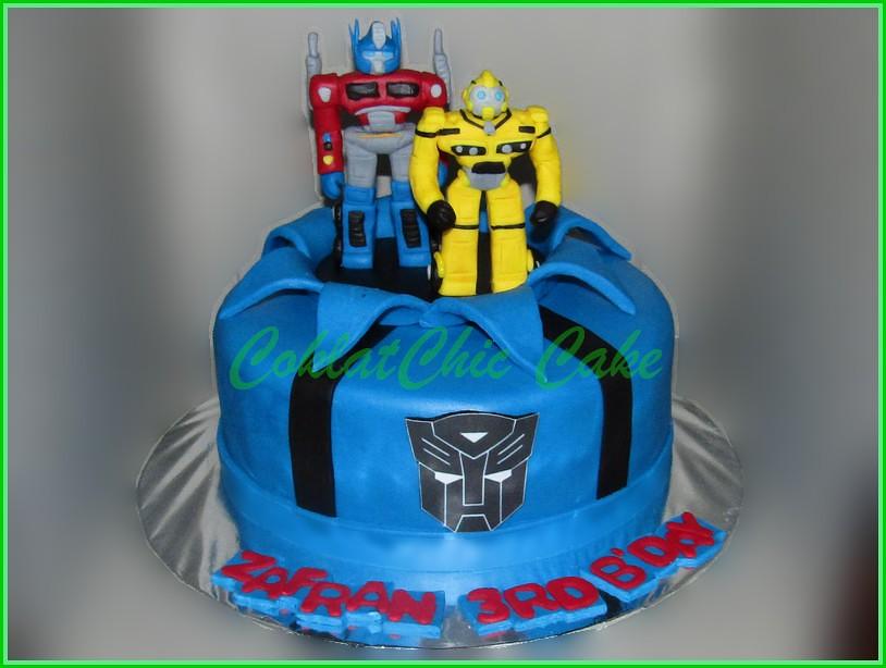 Cake Transformers ZAFRAN 20 cm