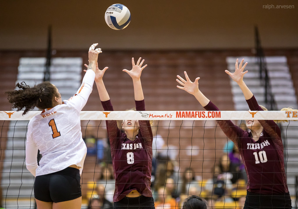 University of Texas Longhorns Volleyball