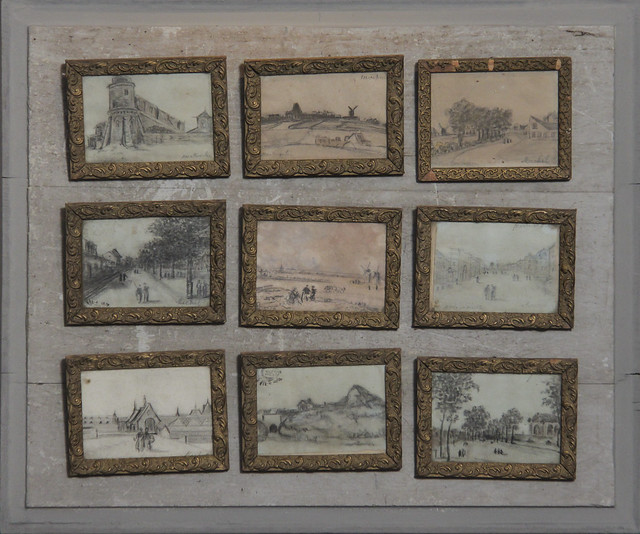 19th century drawing set