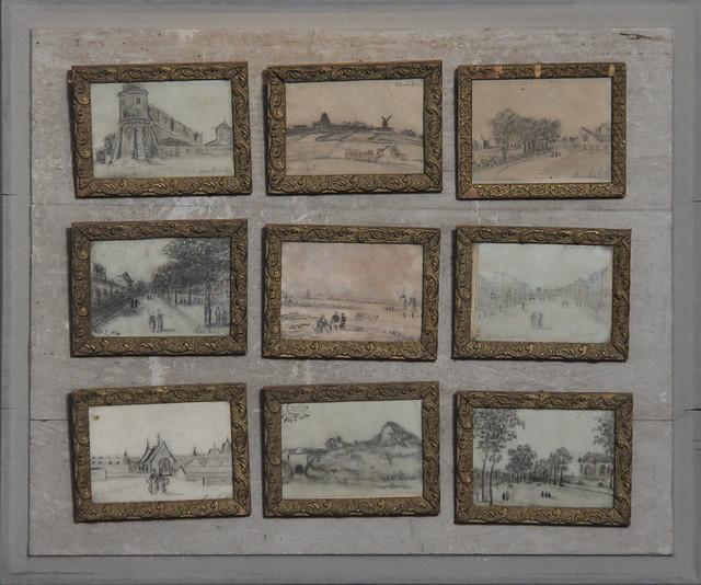 19th century drawing set