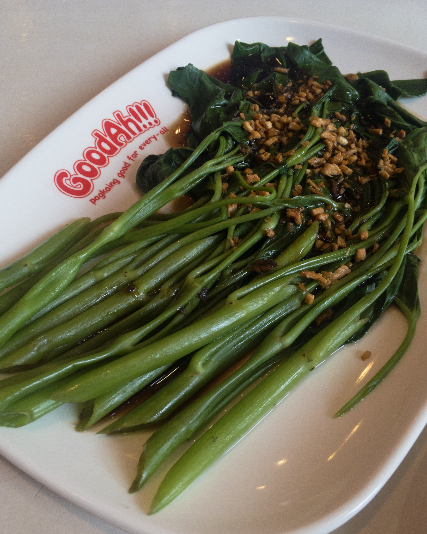Garlic Kangkong - GoodAh!!! Market Market Review