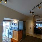 View of spacious open apartmnet from front door