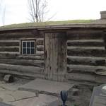 Log home of Osmyn and Mary Deuel, built in 1847.