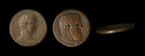 Hadrian coin Elis replica by Robert Ready