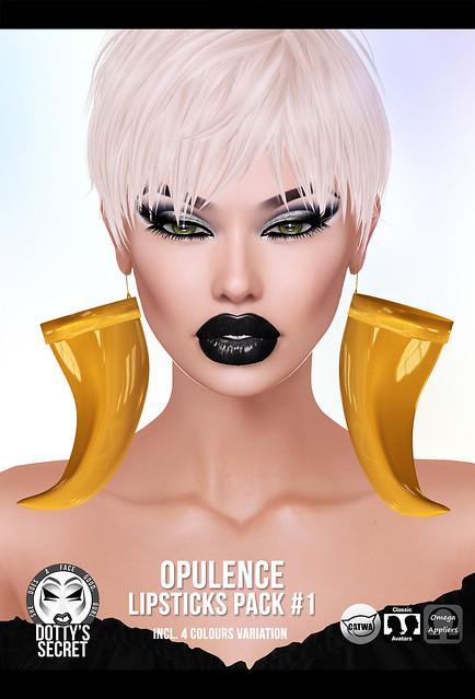 Dotty's Secret - Opulence - Lipstick Pack # 1