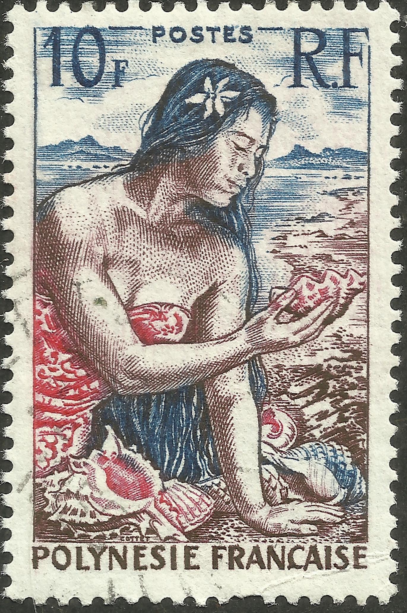 French Polynesia - Scott #189 (1958)