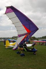 G-MWOH Solar Wings Pegasus [SW-WA-1485] Popham 020509