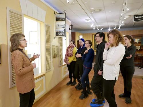 Мар 14 2018 - 14:23 - Экскурсия студентов в Дом-музей А.И. Герцена