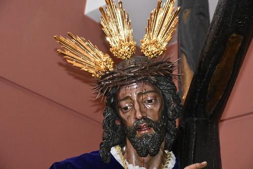 Cristo de Pasión restauración del dorado de las potencias