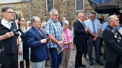 6.8.17 Kapellenverein gratuliert Pastor Fechler zum Jubiläum (3)